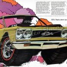"1968 Plymouth GTX Ad Digitized & Re-mastered Poster Print ""Adios"" 16"" x 24"""