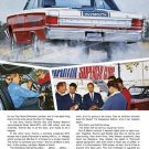 """1967 Plymouth Belvedere GTX Ad Digitized & Re-mastered Print """"Caught Our Strip Show Yet?"""" 18"""" x 24"""""""