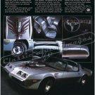 "1979 Pontiac Firebird Trans Am Ad Digitized & Re-mastered Print ""Very Rare Very Well Done"" 18"" x 24"""