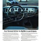 "1970 Pontiac Firebird & Trans Am Ad Digitized & Re-mastered Print ""Eligible to Participate"" 18""x24"""