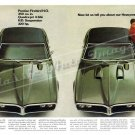 """1968 Pontiac Firebird HO & 400 Ad Digitized & Re-mastered Print """"About Our Heavyweight"""" 16"""" x 24"""""""