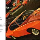 "1969 Pontiac GTO Judge Ad Digitized & Re-mastered Poster Print ""All Rise for the Judge"" 18"" x 36"""