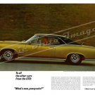 "1966 Pontiac GTO Ad Digitized & Re-mastered Poster Print ""What's New Pussycats?"" 16"" x 24"""