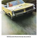 """1965 Pontiac GTO Ad Digitized & Re-mastered Poster Print """"Old Chinese Proverb"""" 18"""" x 24"""""""