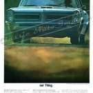 "1965 Pontiac GTO Ad Digitized & Re-mastered  Poster Print ""Our Thing"" 18"" x 24"""