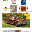 """1966 Pontiac Beaumont Ad Digitized & Re-mastered Poster Print """"Do Something Exciting"""" 18"""" x 24"""""""