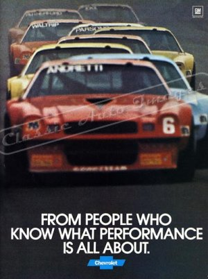 """1979 Camaro Z/28 Ad Digitized & Re-mastered Poster Print """"International Race of Champions"""" 24"""" x 34"""""""