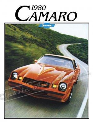 "1980 Chevrolet Camaro Z/28 Brochure Ad Digitized & Re-mastered Poster Print 24"" x 32"""