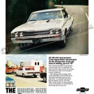 "1967 Chevrolet Chevelle SS Ad Digitized & Re-mastered Poster Print ""Quick-Size"" 24"" x 36"""