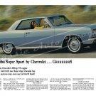 "1964 Chevrolet Chevelle Malibu Ad Digitized & Re-mastered Poster Print ""Gr888t"" 24"" x 36"""
