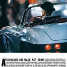 "1962 Chevrolet Corvette Ad Digitized & Re-mastered Poster Print ""Afficionados Are Made.."" 24"" x 36"""