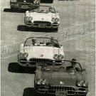 """1960 Chevrolet Corvette Ad Digitized & Re-mastered Poster Print """"Try to Imagine"""" 24"""" x 32"""""""
