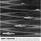 "1963 Chevrolet Corvette Stingray Ad Digitized & Re-mastered Print ""Hairpin Straightener"" 24"" x 32"""