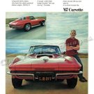 """1967 Chevrolet Corvette Stingray Ad Digitized & Re-mastered Print """"Wolf in Wolf's Clothing"""" 24""""x32"""""""