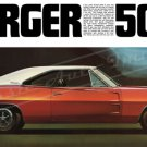 "1970 Dodge Charger 500 Ad Brochure Digitized & Re-mastered Poster Print 24"" x 47"""