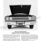 "1965 Dodge Coronet Ad Digitized & Re-mastered Poster Print ""Should Have its Head Examined"" 24"" x 36"""