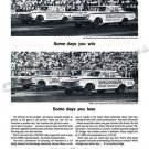 """1963 Dodge Ramchargers Ad Digitized & Re-mastered Poster Print """"Some Days You Win…"""" 24"""" x 36"""""""