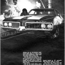 """1969 Oldsmobile Cutlass S W-31 Ad Digitized & Re-mastered Print """"Dr. Oldsmobile's No-No"""" 18"""" x 24"""""""