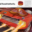 """1970 Plymouth Hemi 'Cuda Ad Digitized & Re-mastered Poster Print """"Rapid Transit Authority"""" 24"""" x 36"""""""