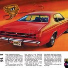 """1970 Plymouth Duster Ad Digitized & Re-mastered Poster Print """"Valiant Big Enough"""" 24"""" x 36"""""""