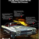 "1968 Plymouth Belvedere GTX Ad Digitized & Re-mastered Print ""William Tell Overture"" 24"" x 32"""
