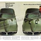 """1968 Pontiac Firebird HO & 400 Ad Digitized & Re-mastered Print """"About Our Heavyweight"""" 24"""" x 36"""""""