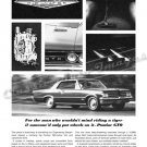 "1964 Pontiac GTO Ad Digitized & Re-mastered Poster Print ""The Man Who Would Ride a Tiger"" 24"" x 32"""