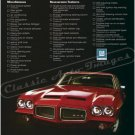 """1972 Pontiac GTO Ad Digitized & Re-mastered Poster Print """"Life is What You Make It"""" 24"""" x 32"""""""