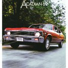 """1969 Pontiac Acadian Ad Digitized & Re-mastered Poster Print Brochure 24"""" x 36"""""""