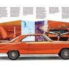 "1967 Pontiac Acadian Canso Sport Ad Digitized & Re-mastered Poster Print Brochure 24"" x 36"""