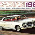 "1965 Pontiac Acadian Ad Digitized & Re-mastered Poster Print Brochure Cover 16"" x 24"""