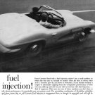 "1961 Chevrolet Corvette Ad Digitized & Re-mastered Print ""Fuel Injection"" 24"" x 36"""