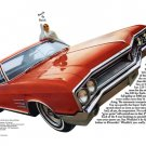 """1965 Buick Wildcat Ad Digitized & Re-mastered Print """"When You Ask for the Hottest..."""" 18"""" x 24"""""""