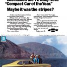 """1972 Chevrolet Rally Nova Ad Digitized & Re-mastered Print """"Compact Car of the Year""""  24"""" x 36"""""""