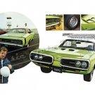 "1970 Dodge Coronet RT Ad Digitized & Re-mastered Print ""Performance Minded""  24"" x 36"""