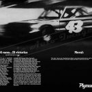 """1967 Plymouth Belvedere Ad Digitized & Re-mastered Print """"31 Victories""""  24"""" x 36"""""""
