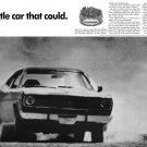 "1970 Plymouth Duster Ad Digitized & Re-mastered Print ""The Little Car That Could""  24"" x 36"""