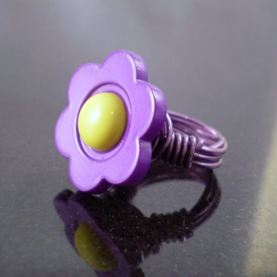 Perfect Purple Flower for Tots