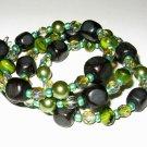 Elegant Glass Bead Bracelet