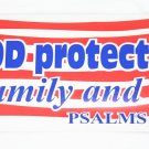 40 God Protect the USA Stickers
