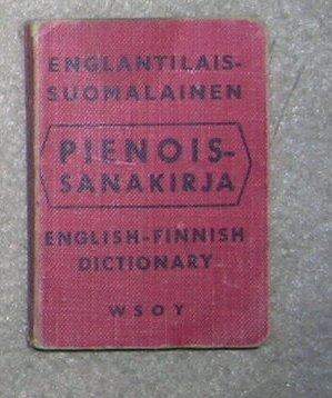 English /  Finnish Dictionary - Little Book