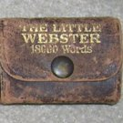 Leather Cased Little Webster English Dictionary - Little Book