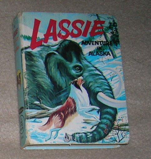 Lassie Adventure in Alaska - Big Little Book