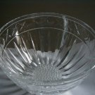 Hand cut Daisy  Crystal bowl