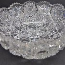Antique Cut Glass BOWL from the American Brilliant period, crystal