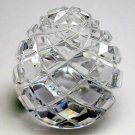 Hand cut Glass paperweight 32 % lead crystal by Heritage Waterford Ireland