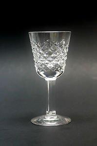 Signed Waterford Hand Cut Alana Irish Crystal Glass Cordials