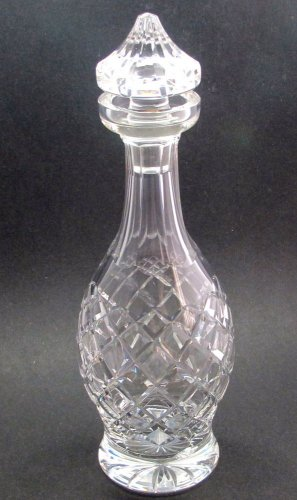 Signed Waterford glass Hand Cut Decanter Donegal pattern Irish Crystal