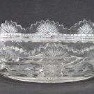 American Brilliant Period Cut Glass oblong bowl ABP antique