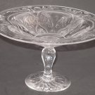 Intaglio Cut Glass compote Antique